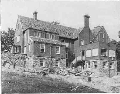 Medovue Estate under construction in 1927