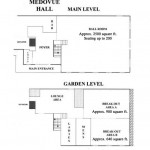 Medovue Hall Floor Plan
