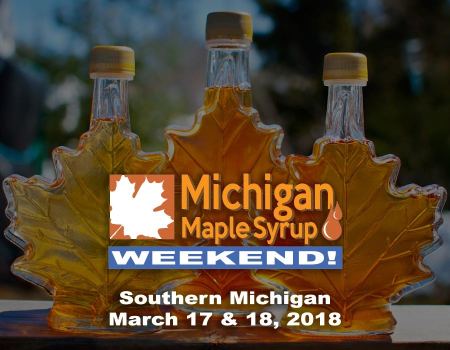 Michigan Maple Syrup Weekend 2018