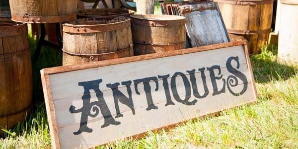 antique sign