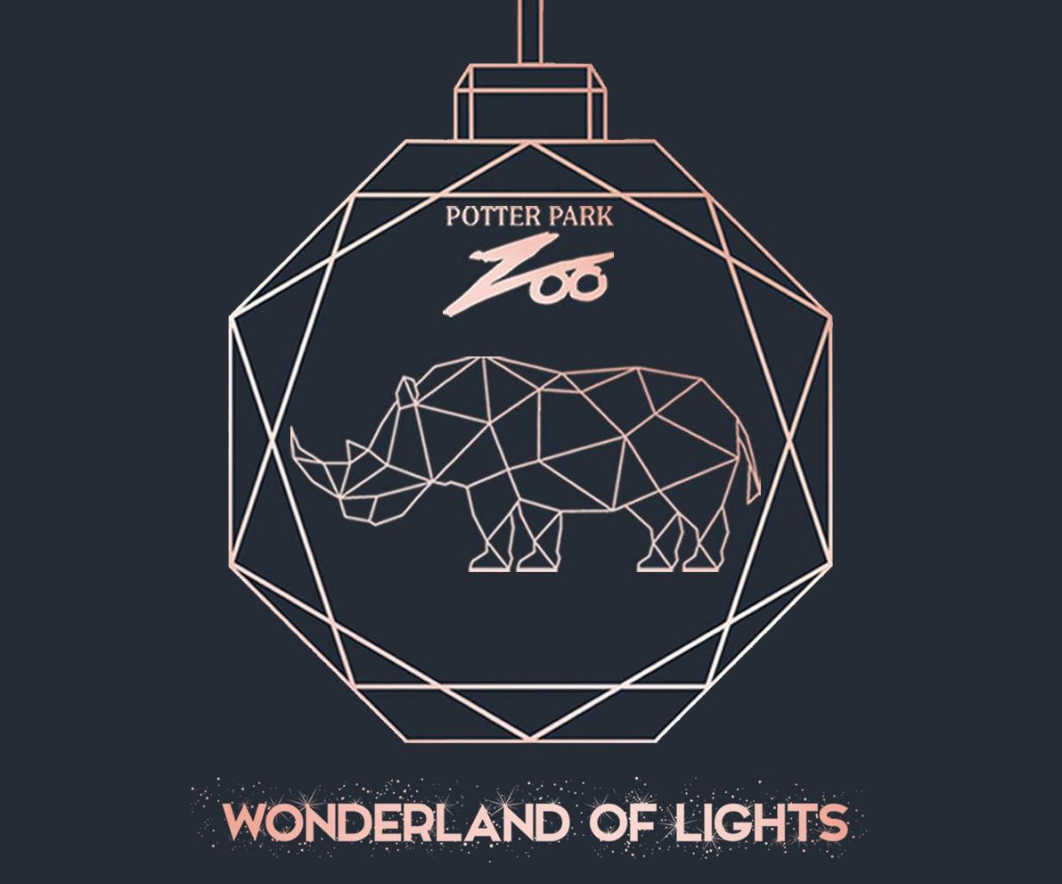 Potter Park Zoo Wonderland of Lights 2019