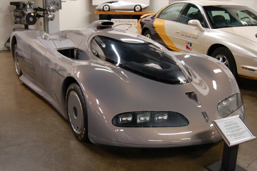 Oldsmobile Aerotech Aurora V8 at the R.E. Olds Transportation Museum