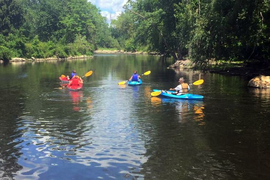 kayak the Grand River