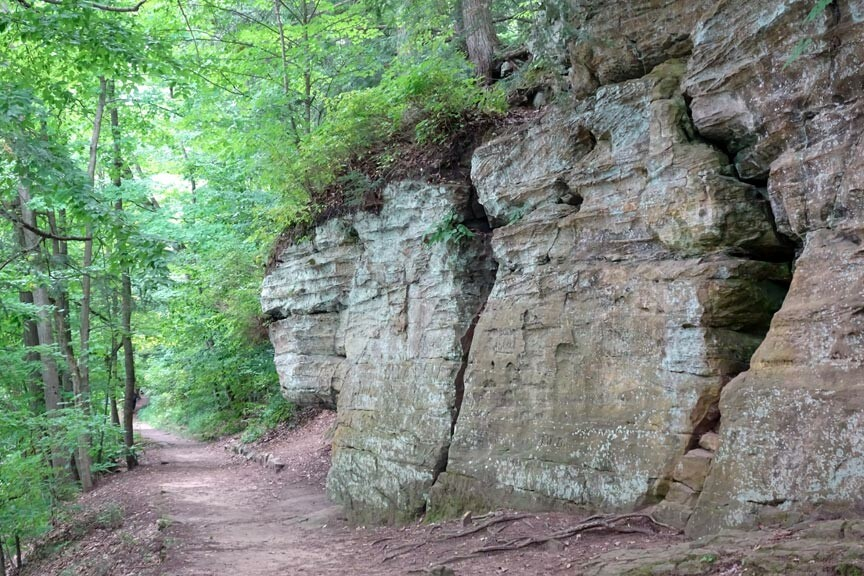 Ledges Trail in Fitzgerald Park