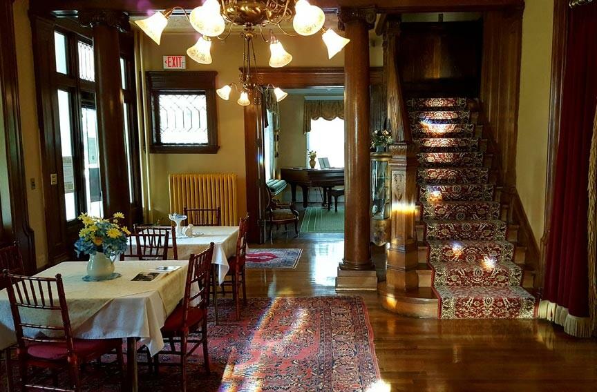 inside the Turner-Dodge House