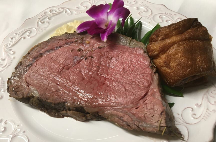 The English Inn Prime Rib