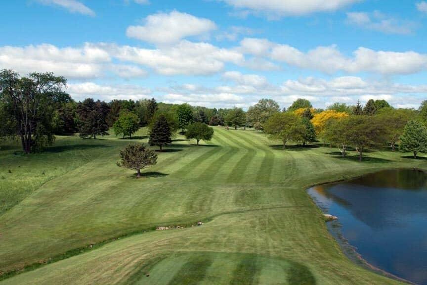 Bonnie View Golf Course greens